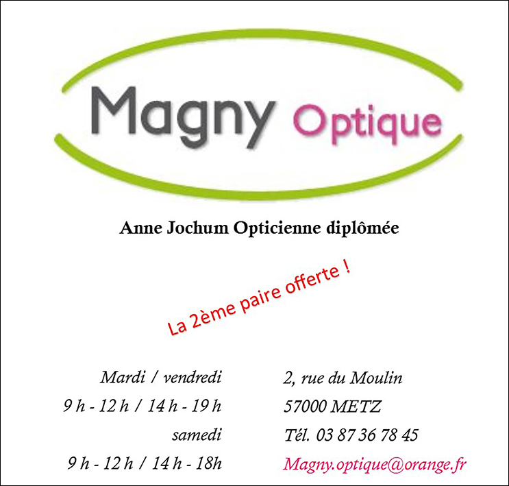 Pub Magny Optique 262x250